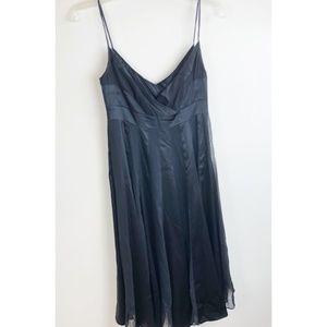 DVF Silk Paneled Roma Strap Dress